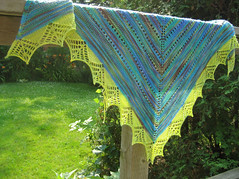 Prism Shawl in Meadow