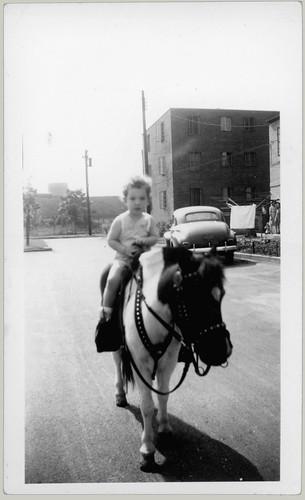 Boy on a pony