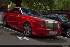 Rolls Royce Phantom Drophead (M.Basil) Tags: park red london united kingdom lane rolls phantom royce qatar 2010    drophead dorchestor