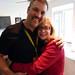 Nice hug from Nina Hartley at SXSW