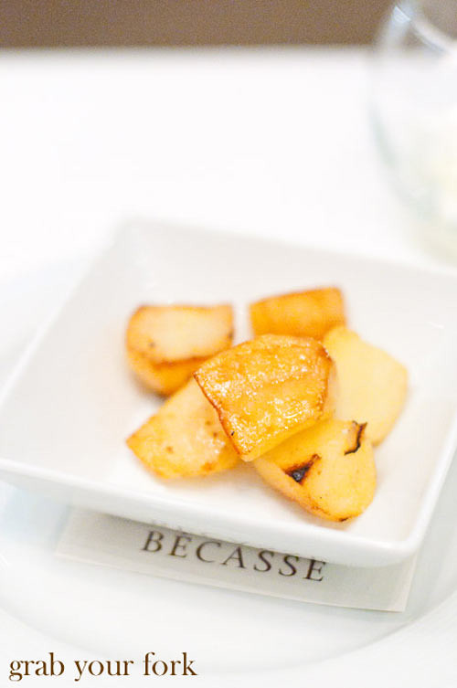 becasse cedar smoked potatoes