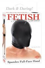 Spandex Full Face Hood (Temptations Sex Toys) Tags: bdsm handcuffs floggers restraints paddles fetishwear ballgags bondagegear bondagerope