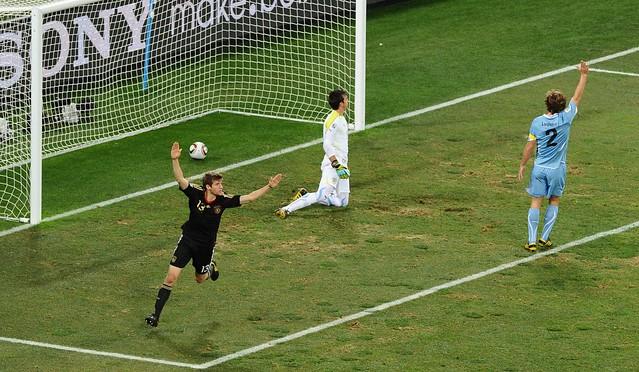 Mundial Sudáfrica Alemania Uruguay Thomas Mueller