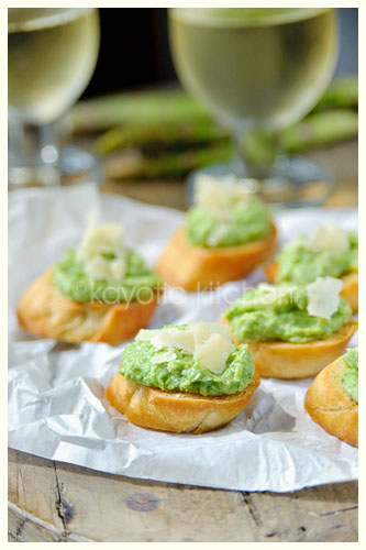 Garden Puree Bruschetta