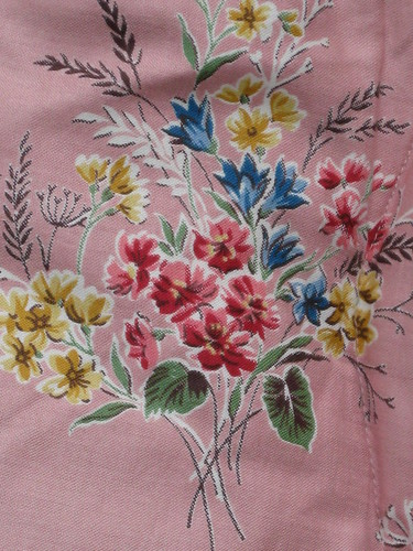 1950s eiderdown close-up