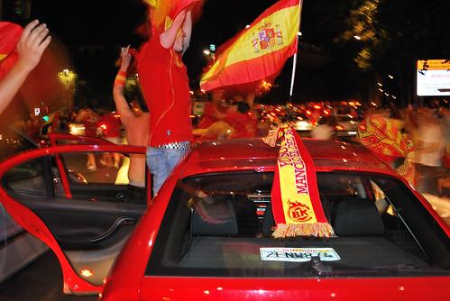 Celebraciones por la victoria