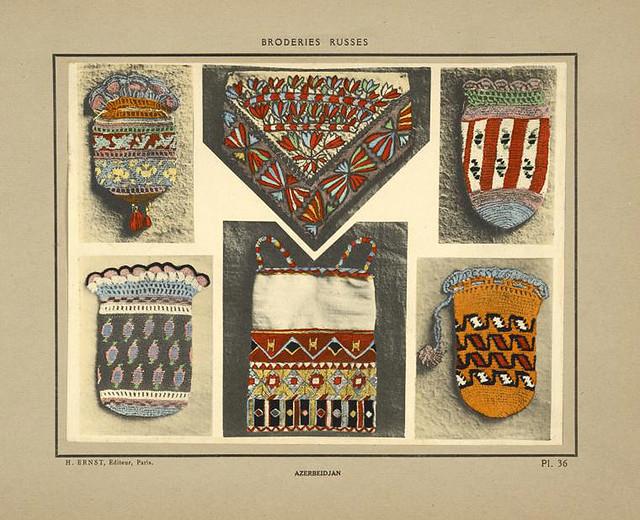 013-Monederos-bolsa y mantel-Azerbaiyán-Broderies russes tartares armeniennes 1925