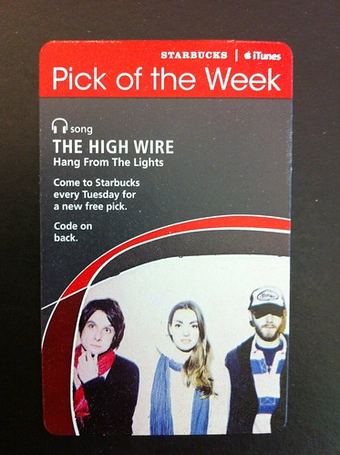 Starbucks iTunes Pick of the Week - The High Wire - Hang From The Lights