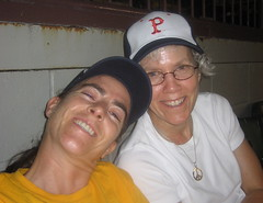 Amy + Libby @ the Paw Sox