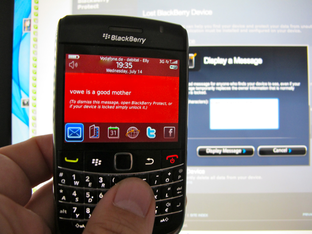 BlackBerry Protect
