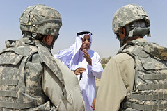 Survey strategy (The U.S. Army) Tags: children tour iraq soldiers mp survey irq friant htat 329battery 34bct basrahprovince