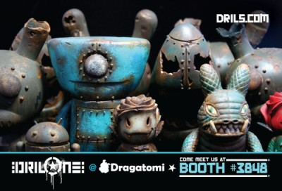 Drilone at SDCC 2010