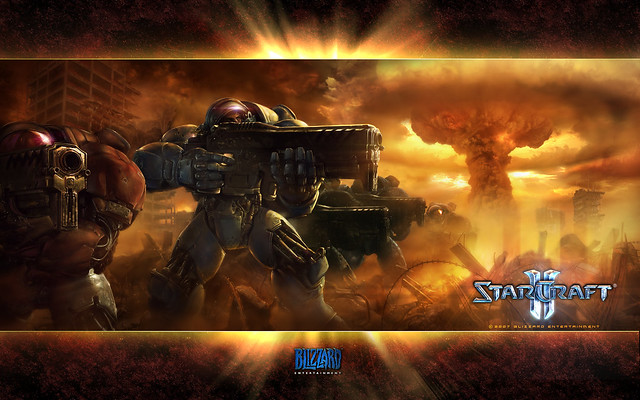 Starcraft II Wallpaper netbook