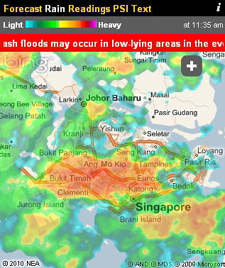Heavy rain and flooding are becoming common occurrences in Singapore.