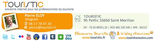 Signature de Pierre ELOY - TOURISTIC