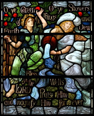 Casterton, Cumbria, Holy Trinity (davewebster14) Tags: holiday church stainedglass cumbria casterton henryholiday holytrinitycasterton
