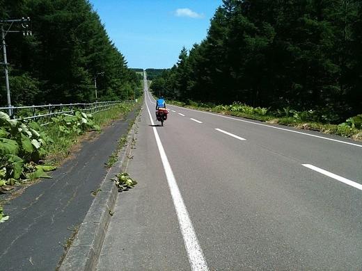 台湾人サイクリストの林さん