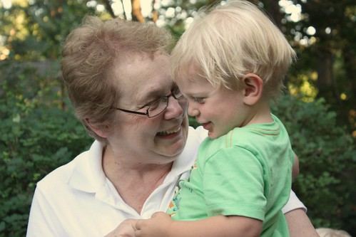 Grandma and Augie