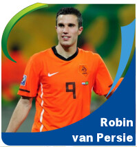 Pictures of Robin van Persie!