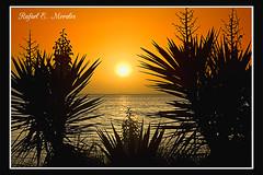 La Manga del Mar Menor (Rafael E Morales) Tags: espaa sol atardecer mar manga murcia puestadesol silueta puesta lamanga marmenor menor
