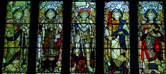 Archangel window, Coventry (robin.croft) Tags: coventry archangel anglican