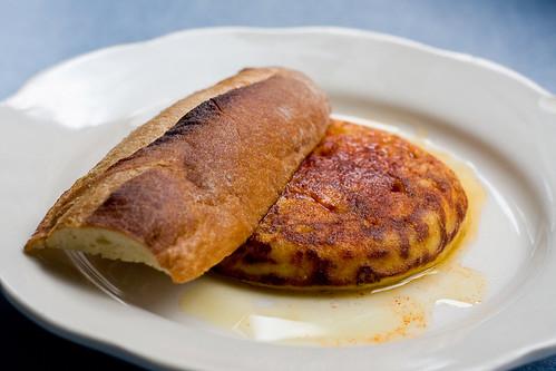 Tortilla Espanola, M. Wells Diner