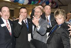 Mike Hrab, Andy Quinn, Some Guy, Matt Episcopo and Leon Etienne (Saomik) Tags: 2010 april batavia newyork usa ffff magic magician