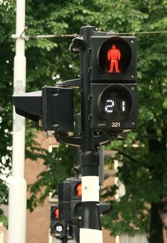 Segundo que quedan para que cambie el semáforo