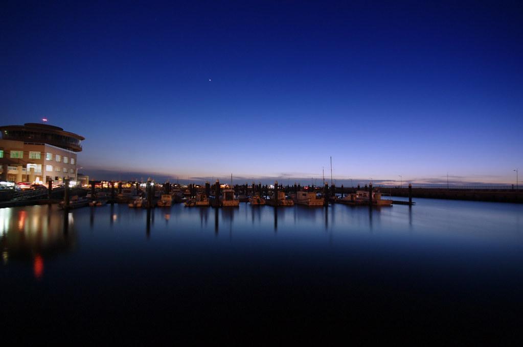 桃園竹圍漁港遊艇碼頭(一張流)