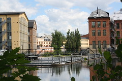 "Norrköping  Motala ström Industrilandskapet • <a style=""font-size:0.8em;"" href=""http://www.flickr.com/photos/23564737@N07/4807895285/"" target=""_blank"">View on Flickr</a>"