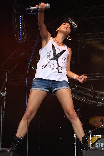 laila khan sonic boom six - photo #9