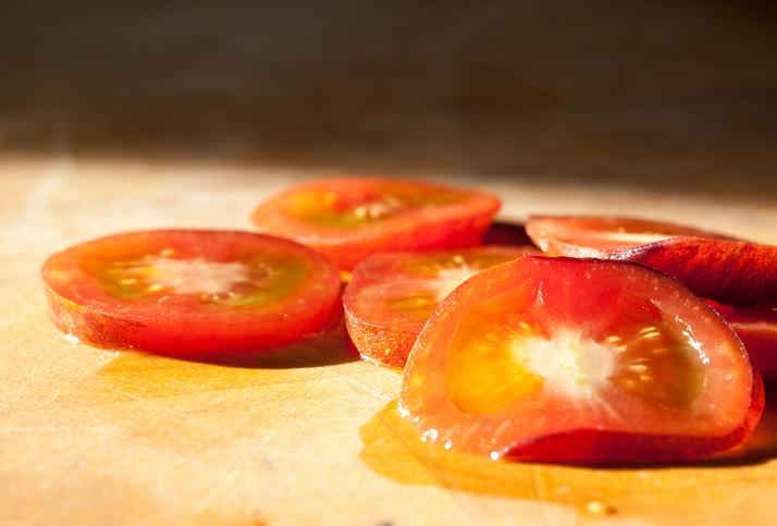 blueberry tomato, de binnenkant