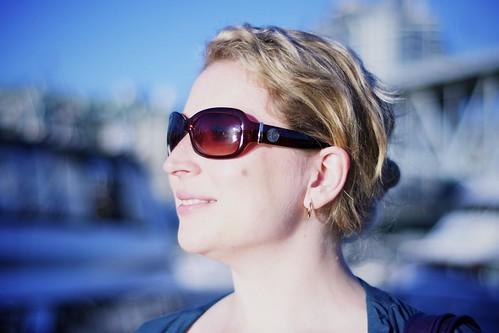 Sunglass by Corinne Hunt of Alert Bay, B.C.