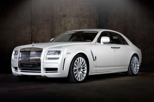 Mansory Rolls Royce Ghost White Edition