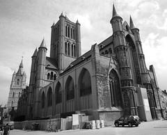 St Niklaaskerk, Ghent (nicnac1000) Tags: belgium belgique belgie belgi ghent gent gand belfort flanders flandres vlaanderen flandre stniklaaskerk