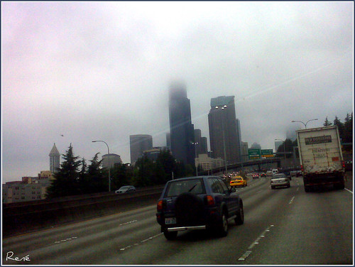 Seattle... Your head in the cloud. Are your feet on the ground?