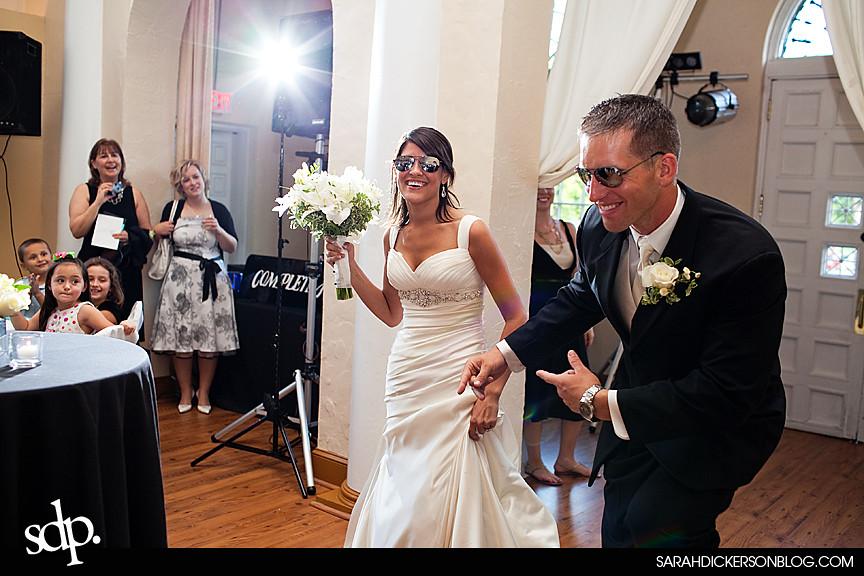 Kansas City wedding reception photographers, the Villas
