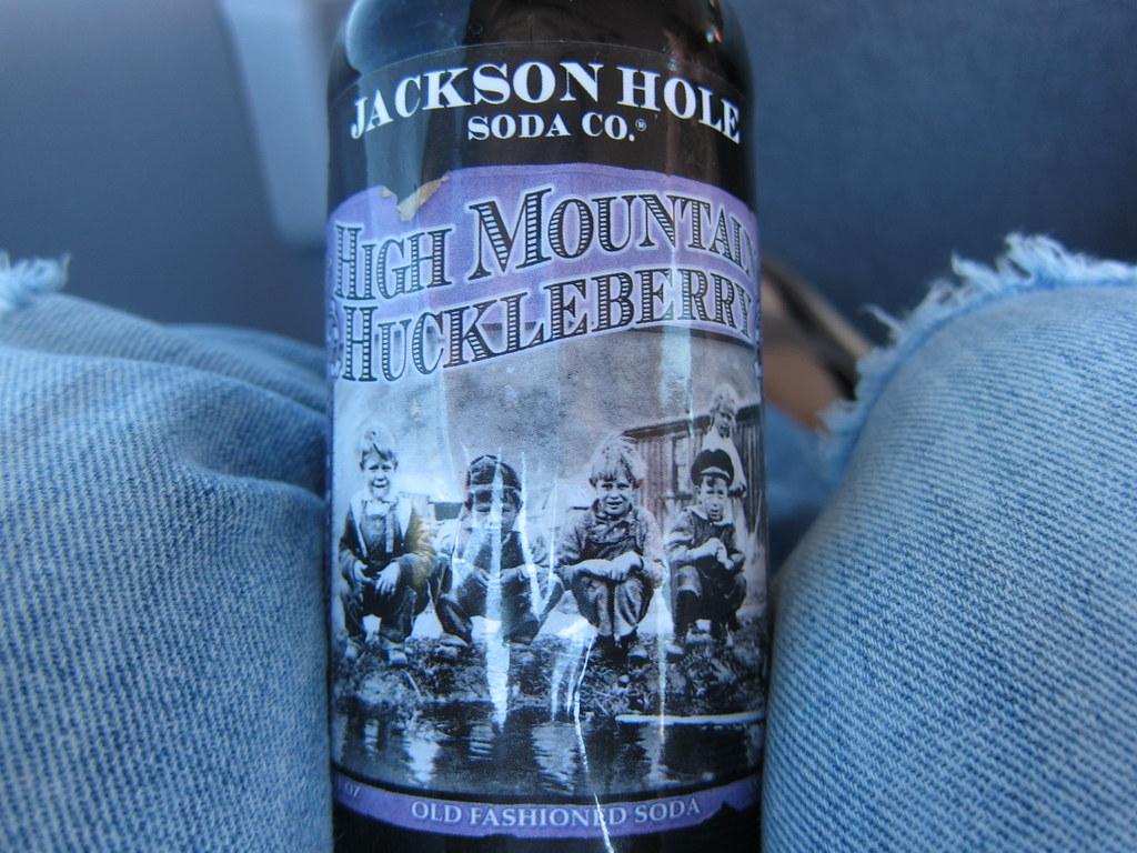 Huckleberry Soda