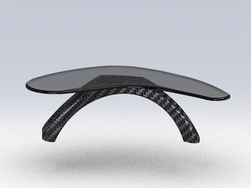 Executive Desk - Metaphor (Arch Form)
