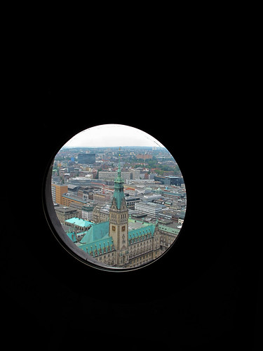 View from Cathedral Spire - Hamburg, Germany