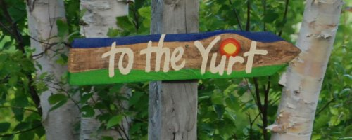 Post image for The Cape Breton Yurt is in Season at Cabot Shores for 2012