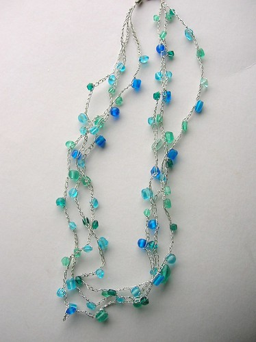 Simple Crochet Necklace