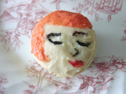 Mad Men Joan Cupcake