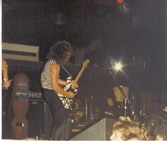 Van Halen at the Whisky 1978 (Taylor Player) Tags: show lighting light music white man david black alex rock electric ball roth drums michael concert bass guitar live stripes peavey 5150 marshall fender lee yamaha 70s anthony males roll eddie drumming pasadena 1970s ernie bomb phase drummers 90 kramer cymbals wolfgang ibanez ampeg charvel mxr paiste evh ludgwig