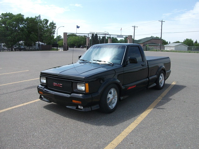 black sport truck turbo alberta gmc lethbridge v6 syclone