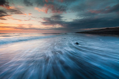 Rush (Izzy Standbridge) Tags: sunset sea sky beach llanrhystud supershot mywinners abigfave dragondaggeraward imagicland