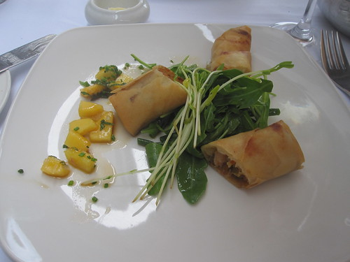 Spring roll at Otto