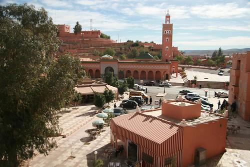 Mesquita da Somália (Mosquée Somalie) no centro de Ouarzazate Marrocos