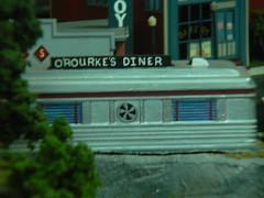 O'Rourke's Diner, Middletown CT (Steadyjohn) Tags: ct middletown modeltrains lioneltrains toytrainshow orourkesdiner mappingmainstreet mainstmiddletownct amatostoyandhobby vincentamato