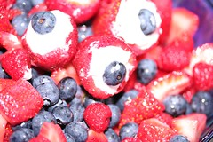 fruit salad (Nick_Runyan) Tags: strawberries patriotism raspberries blueberries july42010roofpartyfooddrinksfriends